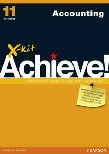 Picture of X-Kit Achieve! Accounting Grade 11 Study Guide (CAPS)