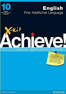 Picture of X-Kit Achieve! English First Additional Language Grade 10 Study Guide (CAPS)