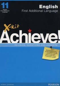 Picture of X-Kit Achieve! English First Additional Language Grade 11 Study Guide (CAPS)
