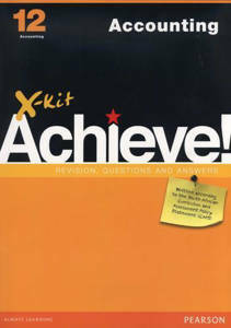 Picture of X-Kit Achieve! Accounting Grade 12 Study Guide (CAPS)