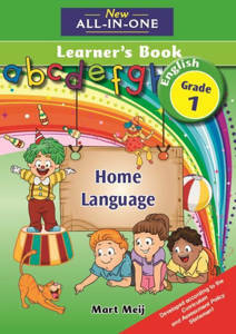 Picture of New all-in-one English (Home Language)  Grade 1 Learner's book