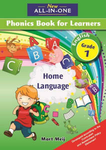 Picture of New all-in-one Phonics (Home Language)  Grade 1 Learner's book