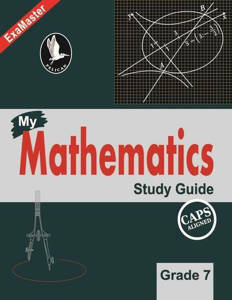 Picture of Pelican Mathematics Study Guide Grade 7