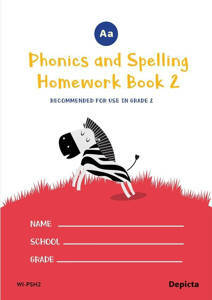 Picture of Phonics and Spelling Homework Book 2 - Depicta