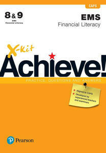 Picture of X-Kit! Achience EMS: Financial Literacy Grade 8 & 9 Workbook (CAPS)
