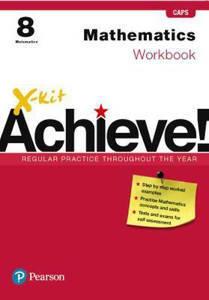 Picture of X-Kit Achieve! Mathematics Grade 8 Workbook (CAPS)