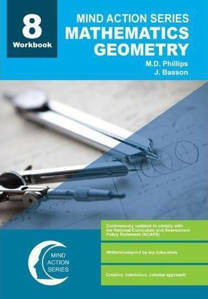 Picture of Mind Action Series Mathematics Geometry Grade 8 Workbook 2016 (NCAPS)