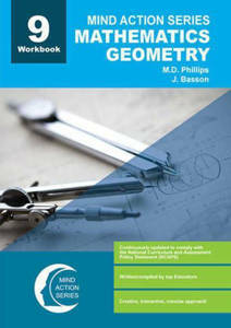 Picture of Mind Action Series Mathematics Geometry Grade 9 Workbook 2016 (NCAPS)