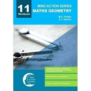 Picture of Mind Action Series Mathematics Geometry Grade 11 Workbook 2016 (NCAPS)