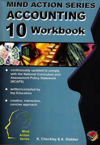 Picture of Mind Action Series Accounting Grade 10 Workbook Bound (NCAPS)
