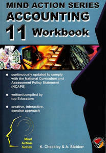 Picture of Mind Action Series Accounting Grade 11 Workbook Bound (NCAPS)