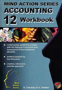 Picture of Mind Action Series Accounting Grade 12 Workbook Bound (NCAPS)