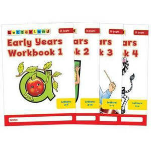 Picture of Early Years Workbooks 1-4 - Louis Fidge & Lyn Wendon