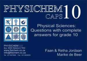 Picture of Physichem Grade 10 Study Guide CAPS