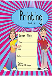 Picture of Printing Workbook 1 (lowercase)