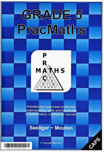 Picture of PracMaths Grade 5 CAPS (Memo Included)