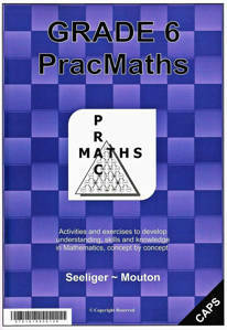 Picture of PracMaths Grade 6 CAPS (Memo Included)