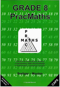 Picture of PracMaths Grade 8 CAPS (Memo Included)