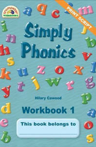 Picture of Simply Phonics Workbook 1 - Hilary Cawood