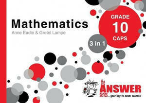Picture of The Answer Series Mathematics Grade 10 3-in-1