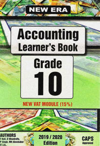 Picture of New Era Accounting Grade 10 Learner's Book (CAPS)