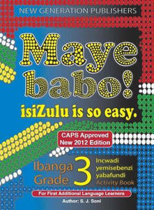 Picture of Maye Babo! isiZulu is so Easy Grade 3 Learner's Book - First Additional Language (CAPS)
