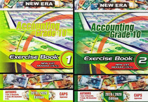 Picture of New Era Accounting Grade 10 Exercise Books (Set of 2) (CAPS)