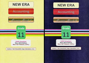 Picture of New Era Accounting Grade 11 Exercise Books (Set of 2) (CAPS)