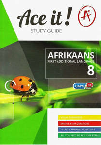 Picture of Ace It! Afrikaans (First Additional Language) Grade 8