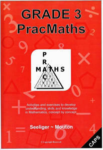 Picture of PracMaths Grade 3 CAPS (Memo Included)
