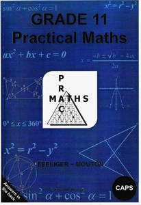 Picture of PracMaths Grade 11 CAPS (Memo Included)