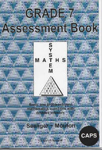 Picture of Grade 7 System Maths: Assessment Book - Seeliger ~ Mouton