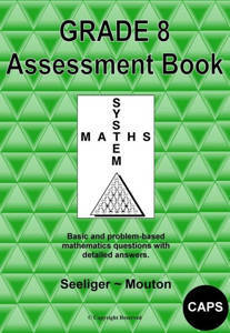 Picture of Grade 8 System Maths: Assessment Book - Seeliger ~ Mouton