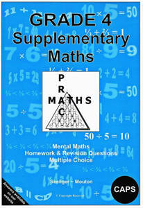 Picture of Supplementary Maths Grade 4 Seeliger - Mouton