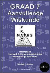 Picture of Aanvullende Wiskunde Graad 7