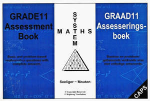 Picture of Grade 11 System Maths: Assessment Book - Seeliger ~ Mouton