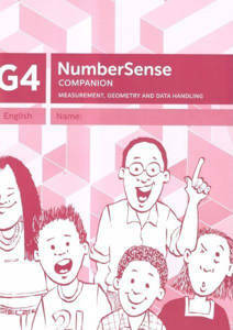 Picture of Number Sense Companion Book Grade 4 Workbook