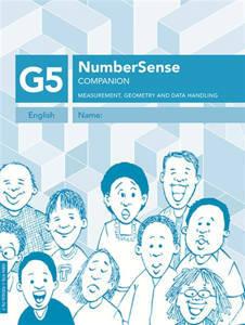 Picture of Number Sense Companion Book Grade 5 Workbook