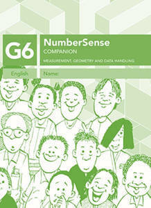 Picture of Number Sense Companion Book Grade 6 Workbook