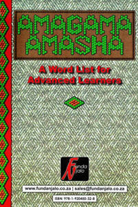 Picture of Amagama Amasha - Advanced Wordlist FAL