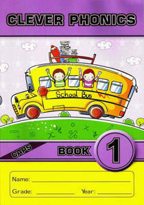 Picture of Clever Phonics Book 1 (Junior font)