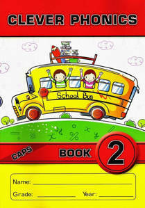 Picture of Clever Phonics Book 2  (Junior font)