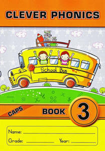 Picture of Clever Phonics Book 3 (Junior font)