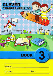 Picture of Clever Comprehension Book Grade 3 (Junior font)
