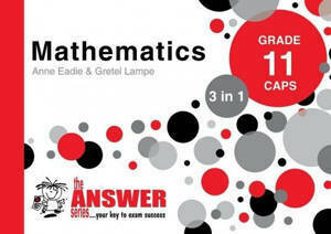 Picture of The Answer Series Mathematics Grade 11 3-in-1