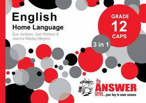 Picture of The Answer Series English Home Language Grade 12 3-in-1