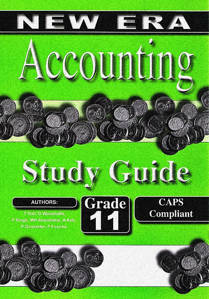 Picture of New Era Accounting Grade 11 Study Guide (Set of 2) (CAPS)