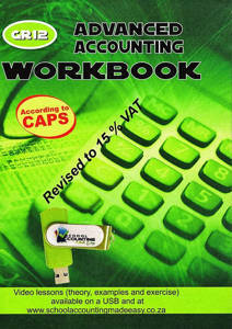 Picture of Advanced Accounting Grade 12 Excercise Book