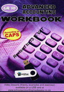 Picture of Advanced Accounting Grade 10 Excercise Book
