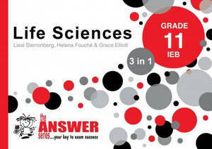 Picture of The Answer Series Life Sciences Grade 11 3-in-1 IEB